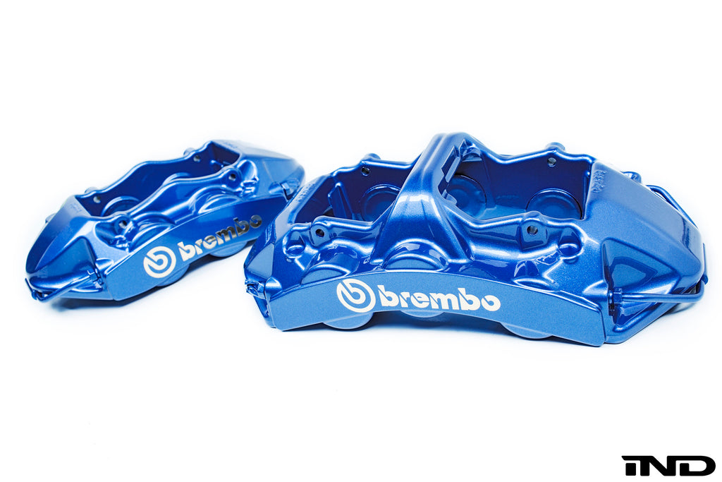 Brembo f8x m3 m4 gt big brake kit 405x34mm 2 piece front 1 - iND Distribution