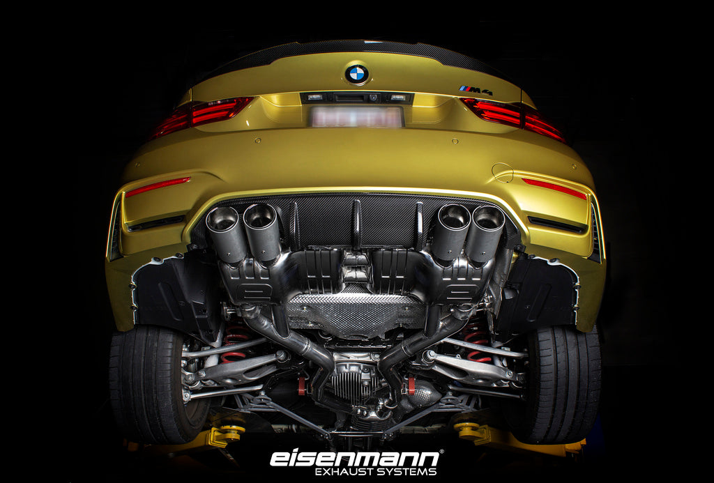 Eisenmann F8x M3/M4 Performance Exhaust - Signature Tips