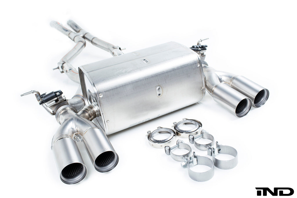 BMW M Performance F8X M3 / M4 Titanium Exhaust System 1