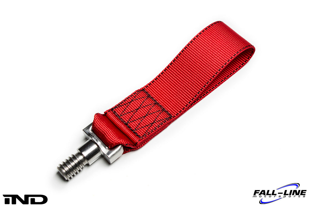 Fall Line Motorsports E9X M3 Tow Strap - Red