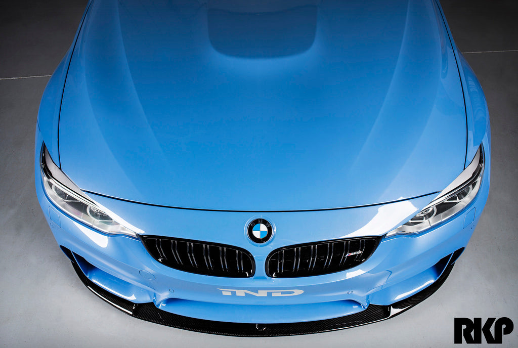 RKP f8x m3 m4 carbon fiber front lip - iND Distribution