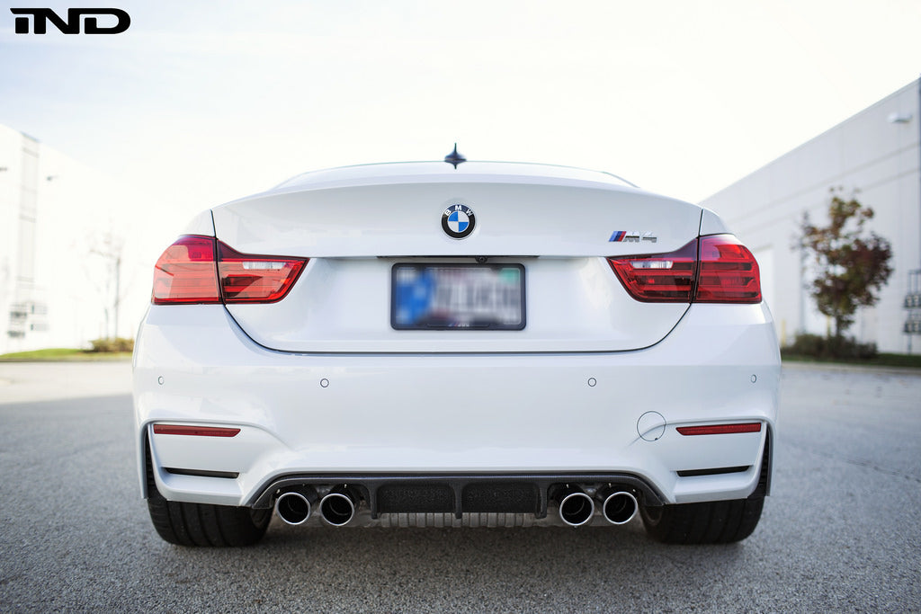 RKP f8x m3 m4 carbon fiber rear diffuser - iND Distribution