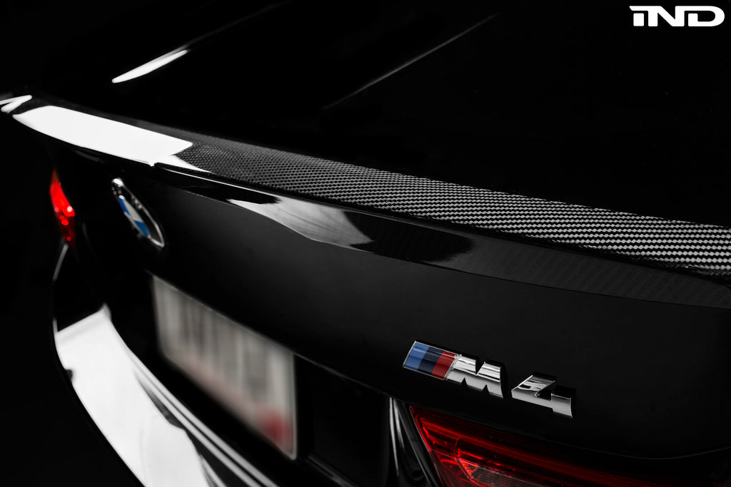 BMW m Performance f82 m4 carbon trunk spoiler - iND Distribution