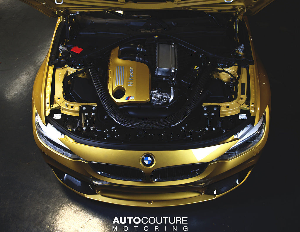 IND F80/F82/F83 M3/M4 Painted Engine Cover - Austin Yellow