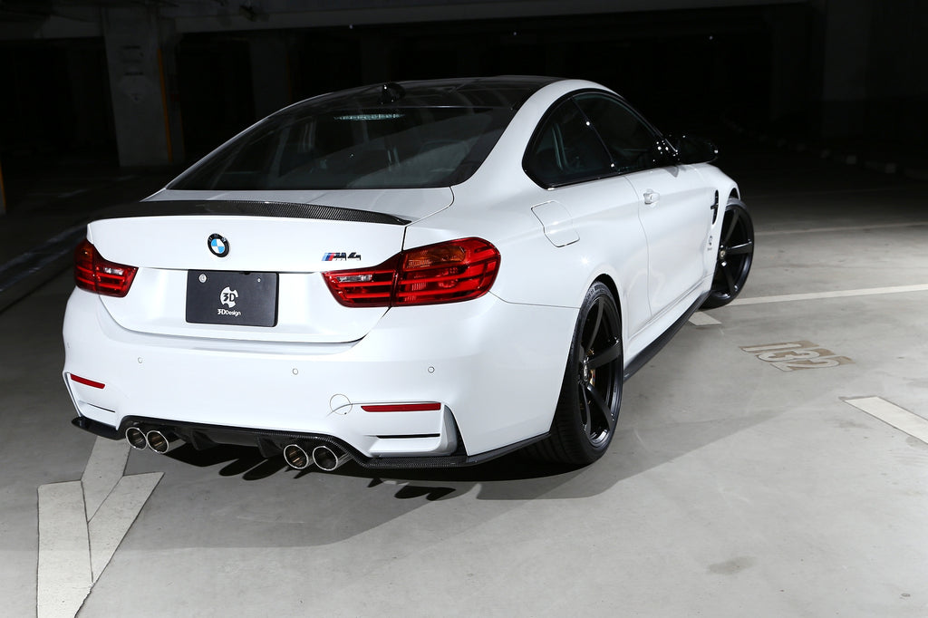 3d design f82 m4 carbon fiber side skirt set - iND Distribution