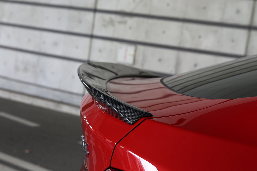 3d design f26 x4 carbon fiber trunk spoiler - iND Distribution