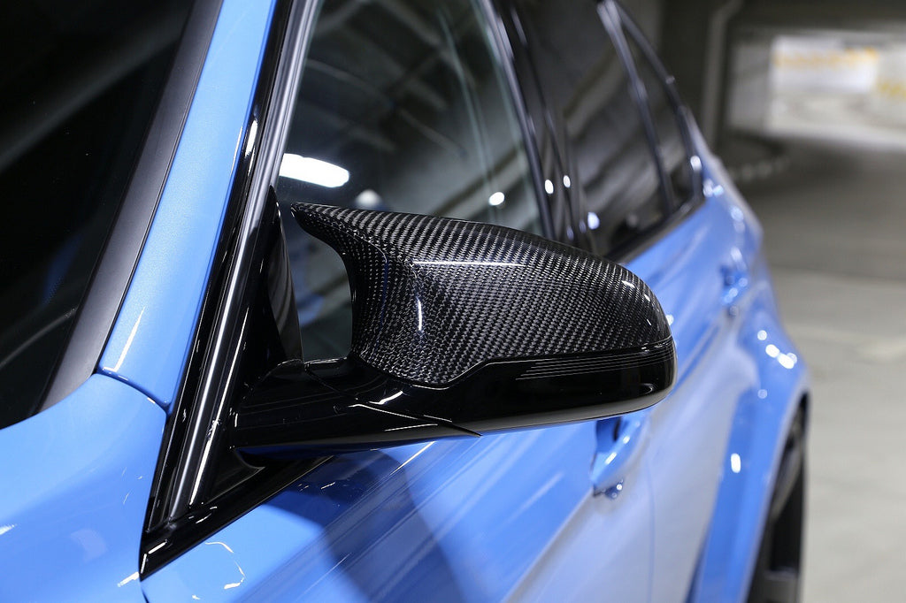 3D Design Right Hand Drive Carbon Fiber Mirror Covers (2x2)