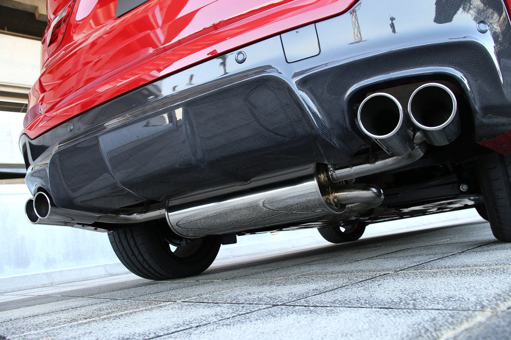 3D Design F26 X4 35i N55 Exhaust System - 4 x 90mm  1