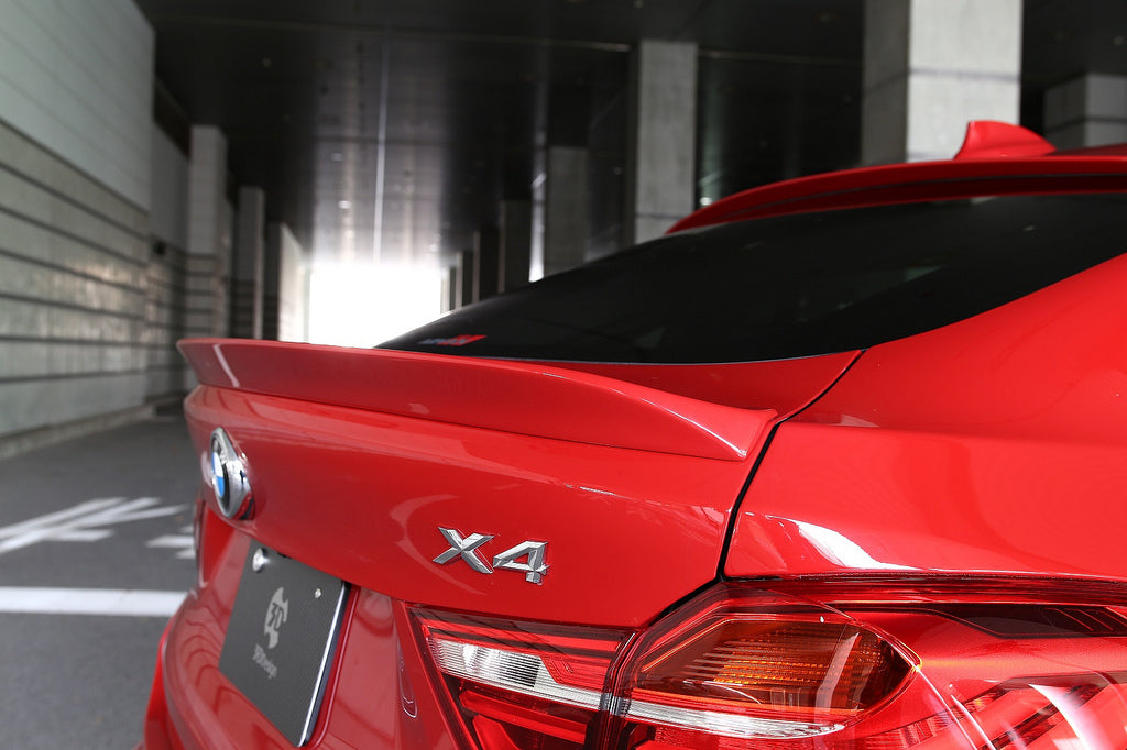 3d design f26 x4 trunk spoiler - iND Distribution