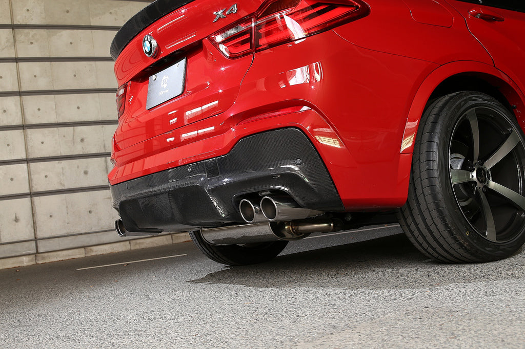 3d design f26 m sport carbon fiber rear diffuser - iND Distribution