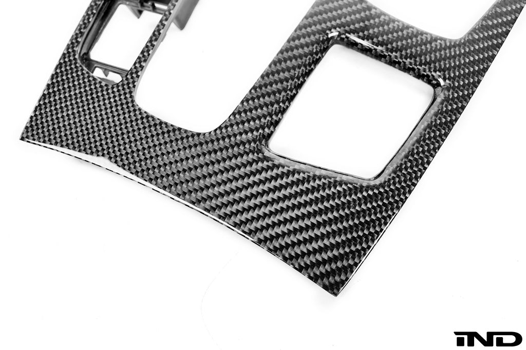 BMW f85 x5m f86 x6m m Performance carbon fiber console trim - iND Distribution