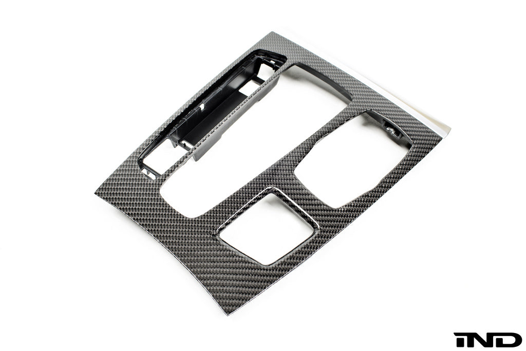 BMW F85 X5M / F86 X6M  M Performance Carbon Fiber Console Trim 1