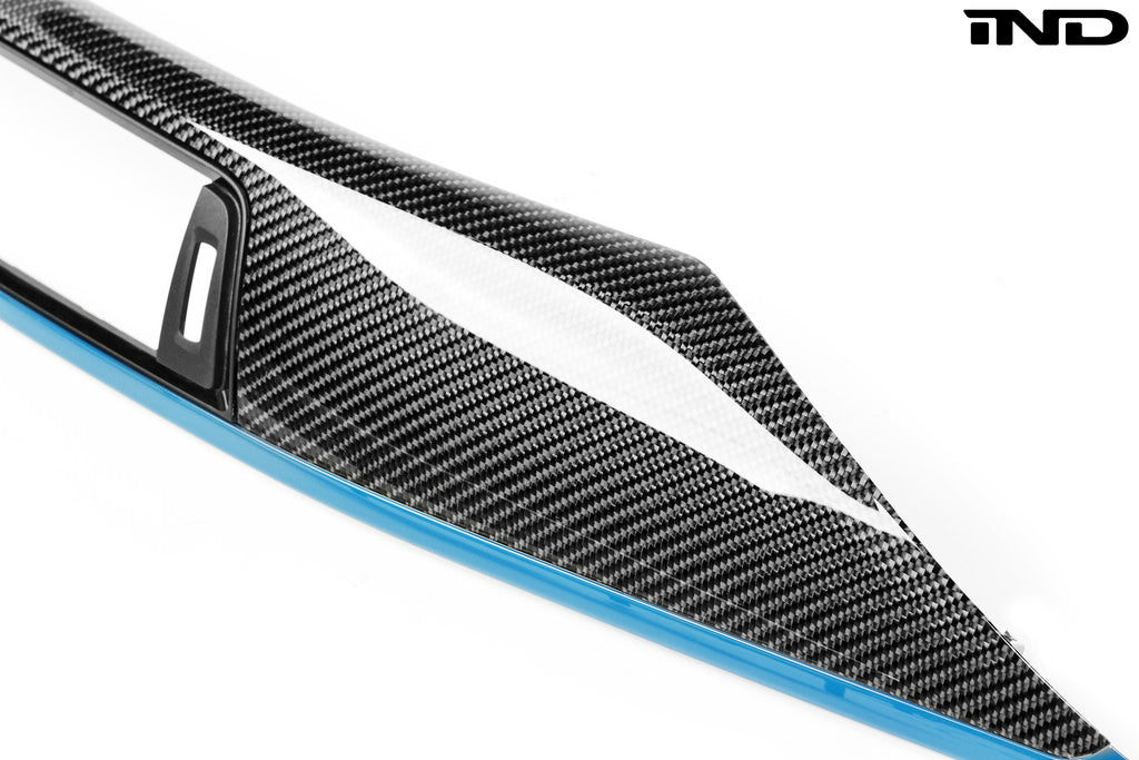 IND F82 M4 Painted Carbon Fiber Interior Trim Set