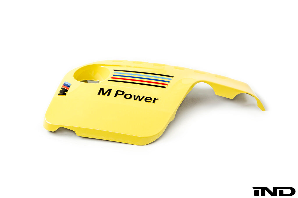 IND F80/F82/F83 M3/M4 Painted Engine Cover - Dakar Yellow