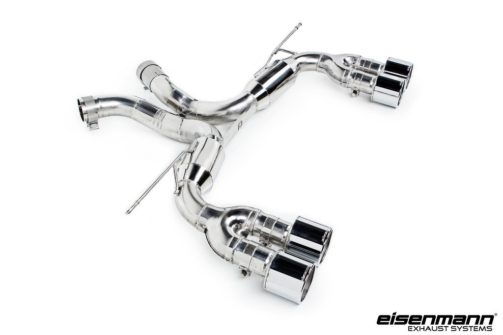 Eisenmann bmw f85 x5m f86 x6m race performance exhaust 4x102mm - iND Distribution