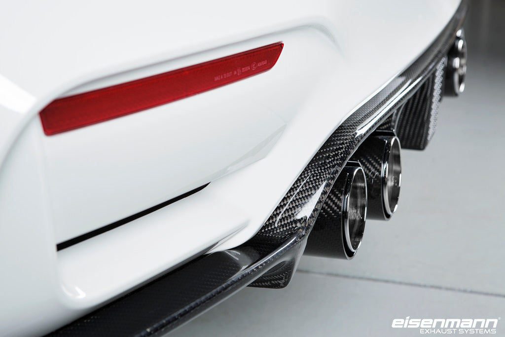 Eisenmann F8X M3/M4 Performance Exhaust - Carbon Tips