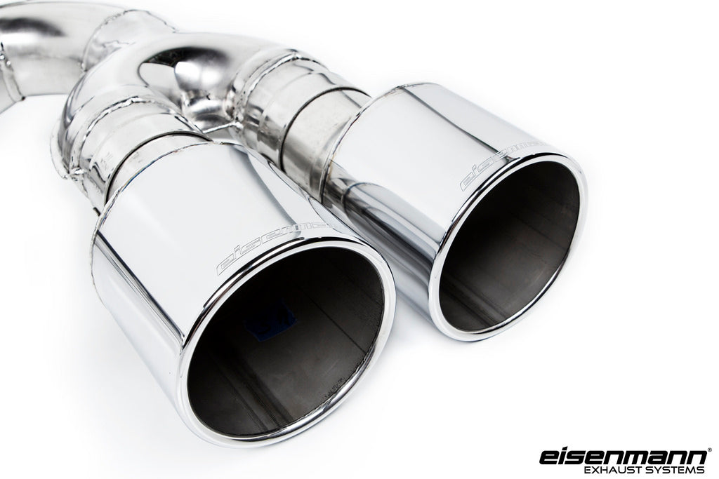 Eisenmann BMW F85 X5M / F86 X6M Race Performance Exhaust - 4x102mm  6