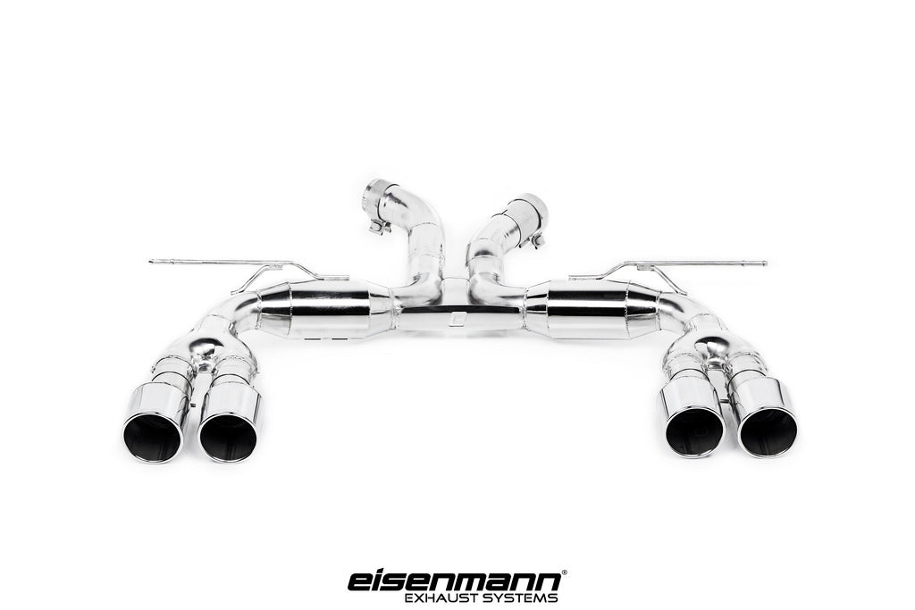 Eisenmann BMW F85 X5M / F86 X6M Race Performance Exhaust - 4x102mm  1