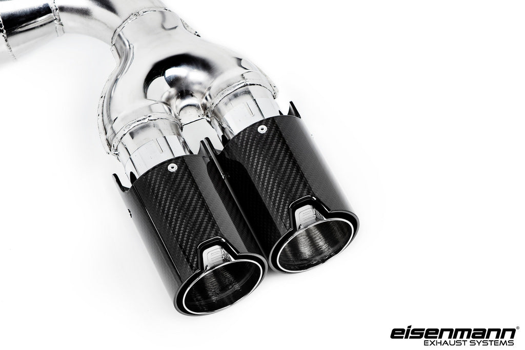 Eisenmann BMW F85 X5M / F86 X6M Race Performance Exhaust - 4x90mm