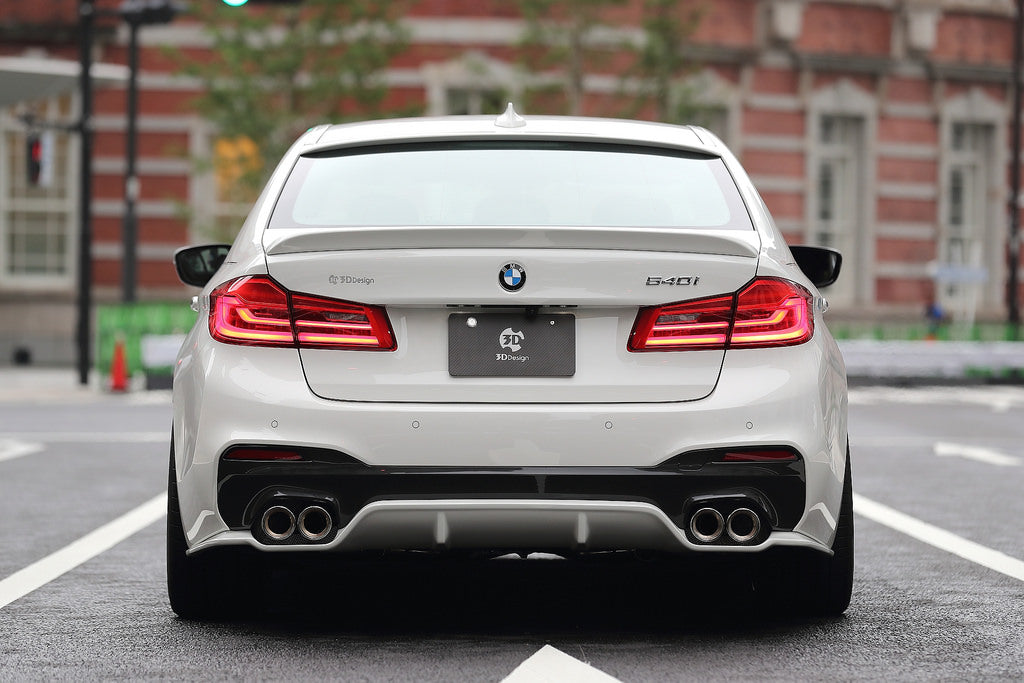3D Design G30 5-Series Rear Diffuser 4