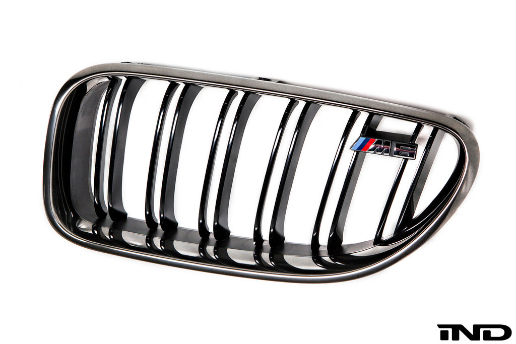 IND F06 / F12 / F13 M6 Black Chrome Front Grille Set