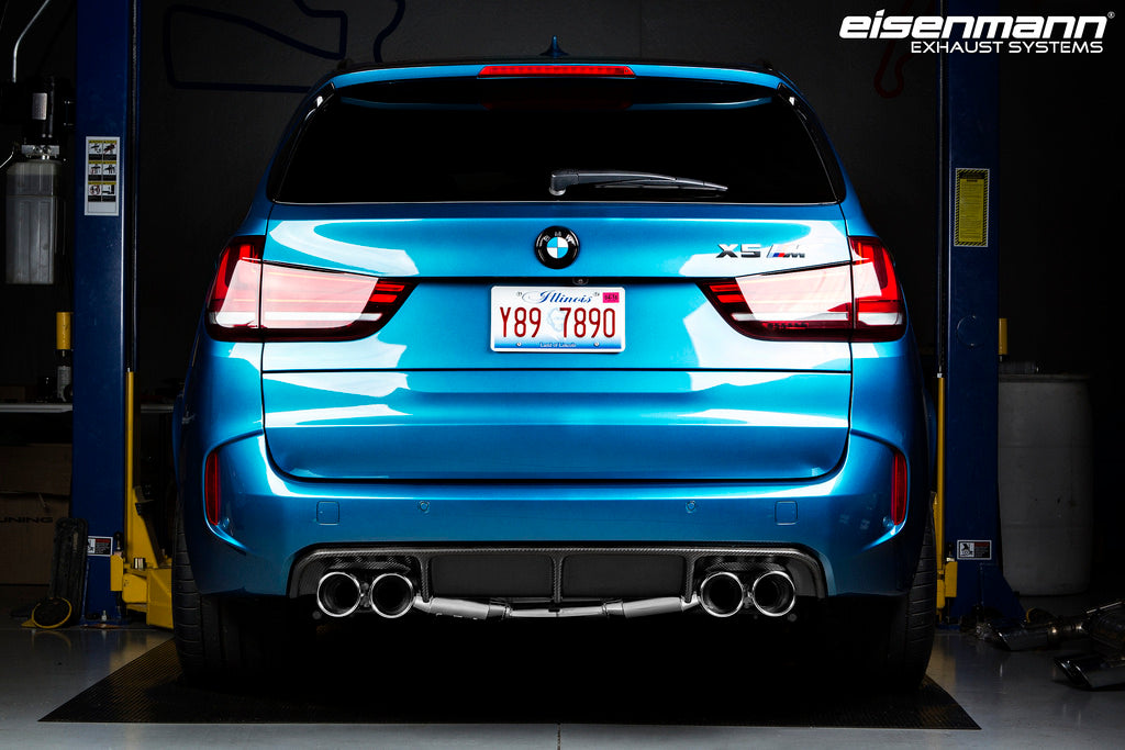 Eisenmann BMW F85 X5M / F86 X6M Race Performance Exhaust - 4x102mm  12