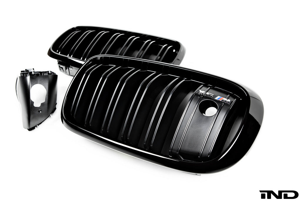 IND F86 X6M Painted Night Vision Front Grille Set