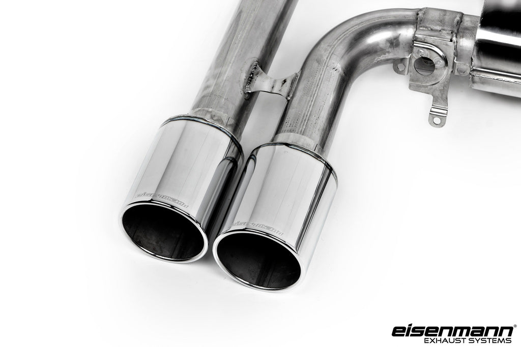 Eisenmann bmw f85 x5m f86 x6m sport performance exhaust 4x102mm - iND Distribution