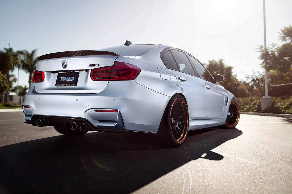 3d design f80 m3 dry carbon fiber trunk spoiler - iND Distribution