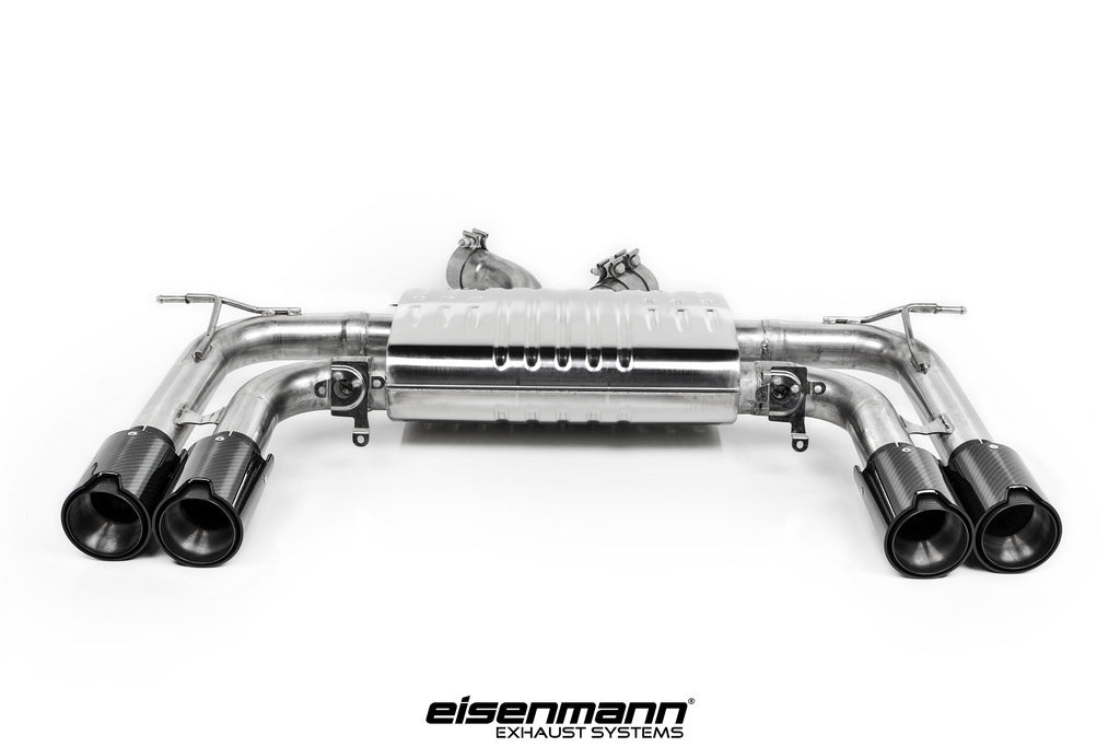 Eisenmann BMW F85 X5M / F86 X6M Sport Performance Exhaust - 4x90mm Carbon