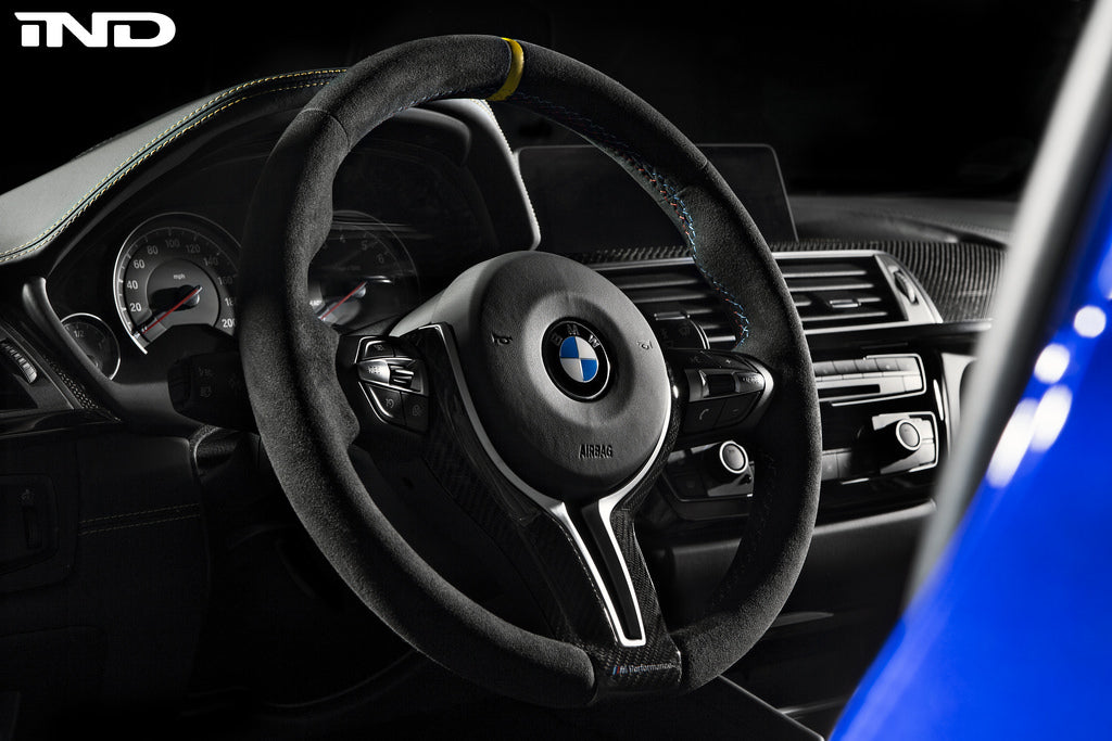 BMW m Performance f8x m3 m4 v1 steering wheel - iND Distribution