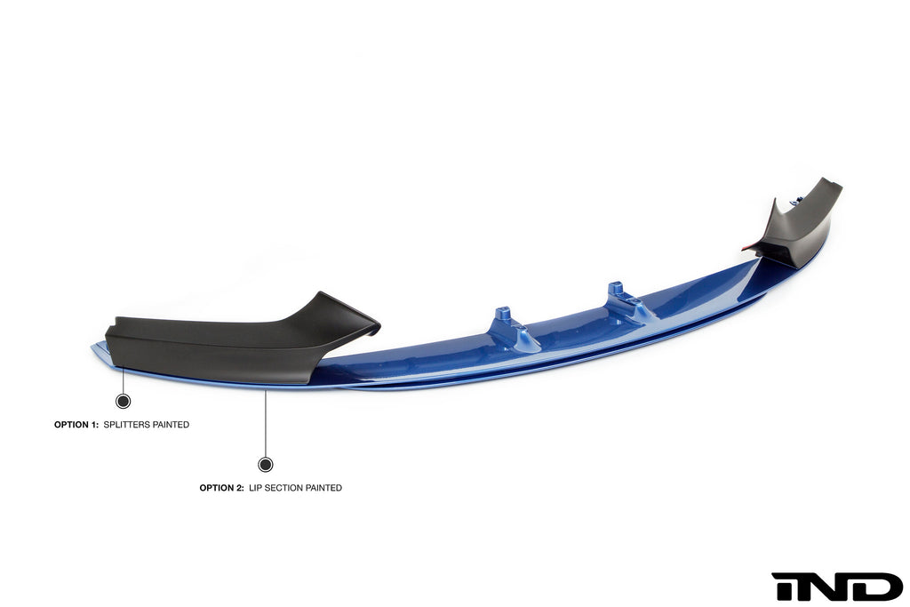 BMW m Performance f22 m sport front lip spoiler - iND Distribution