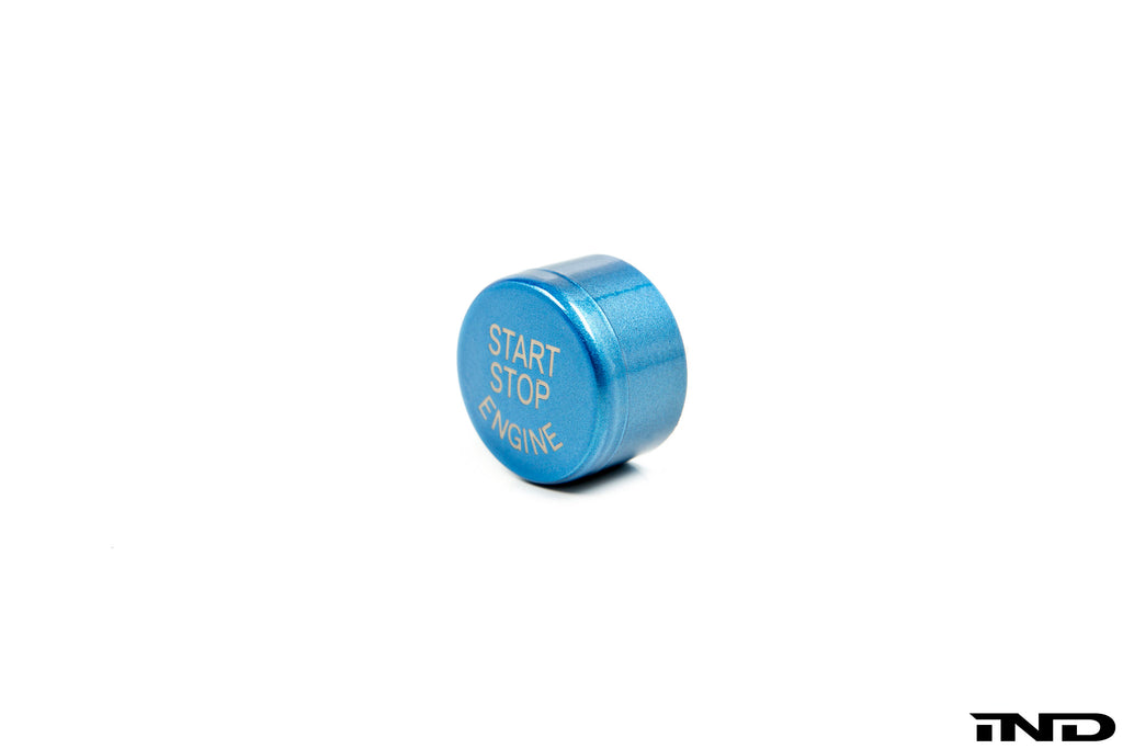 IND F85 X5M / F86 X6M Polar Blue Start / Stop Button