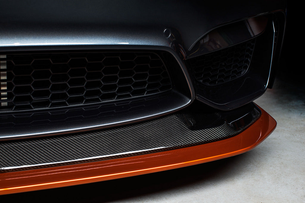 RKP f82 m4 gts replacement carbon fiber splitter - iND Distribution
