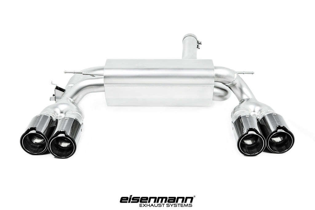 Eisenmann f87 m2 performance exhaust 4x90mm carbon - iND Distribution