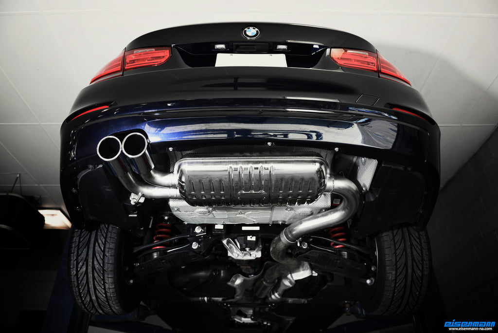 Eisenmann 320i 420i n20 performance exhaust - iND Distribution