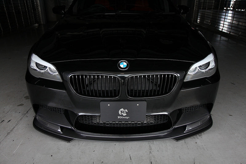 3d design f10 m5 matte carbon fiber under splitters - iND Distribution