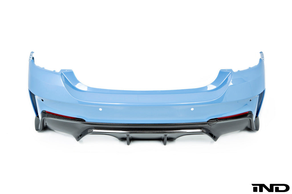 3D Design F82 M4 Carbon Fiber Rear Bumper 10