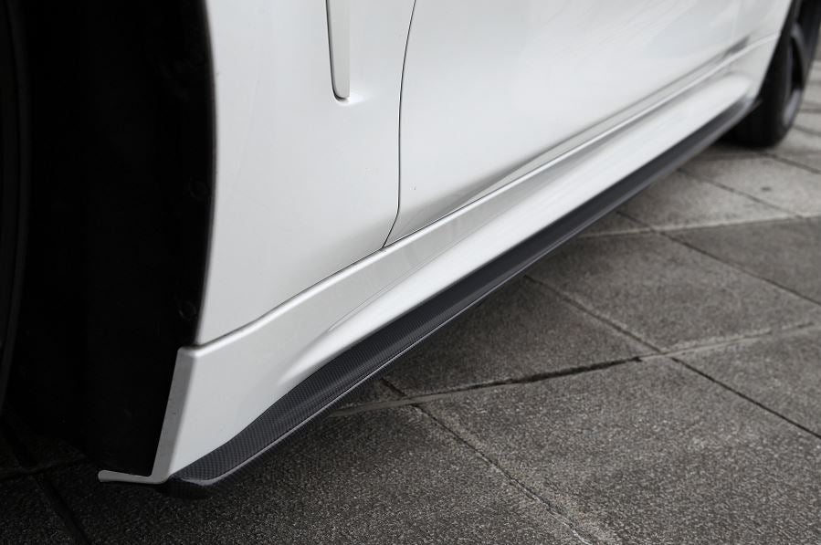 3d design f32 m sport carbon fiber side skirts - iND Distribution