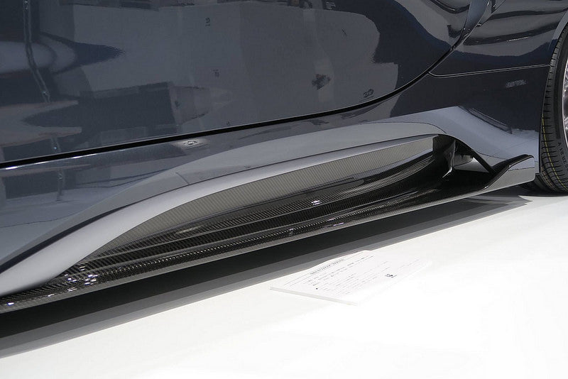 3D Design I12 i8 Carbon Side Skirts 2