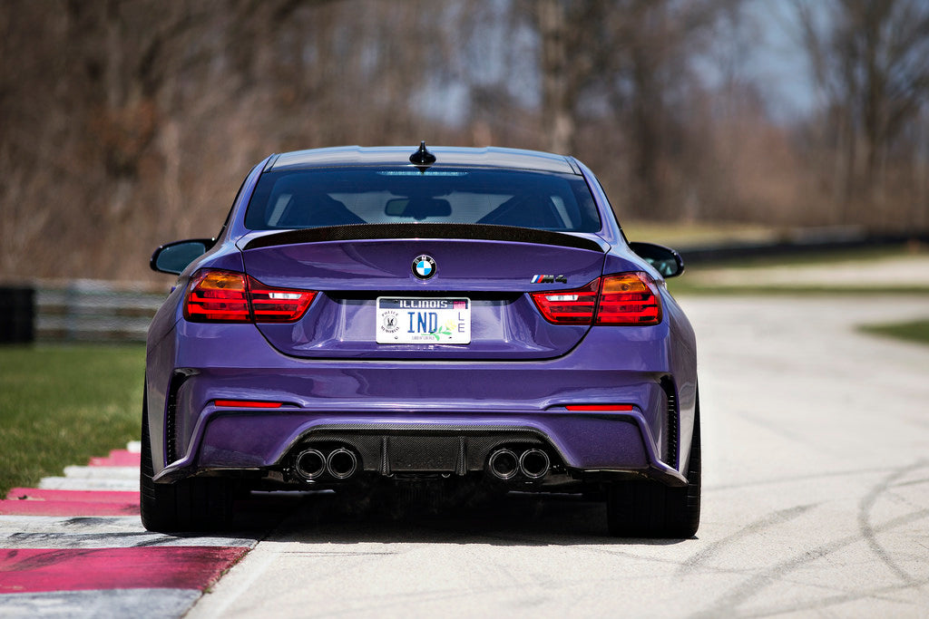 3d design f82 m4 carbon fiber rear bumper - iND Distribution
