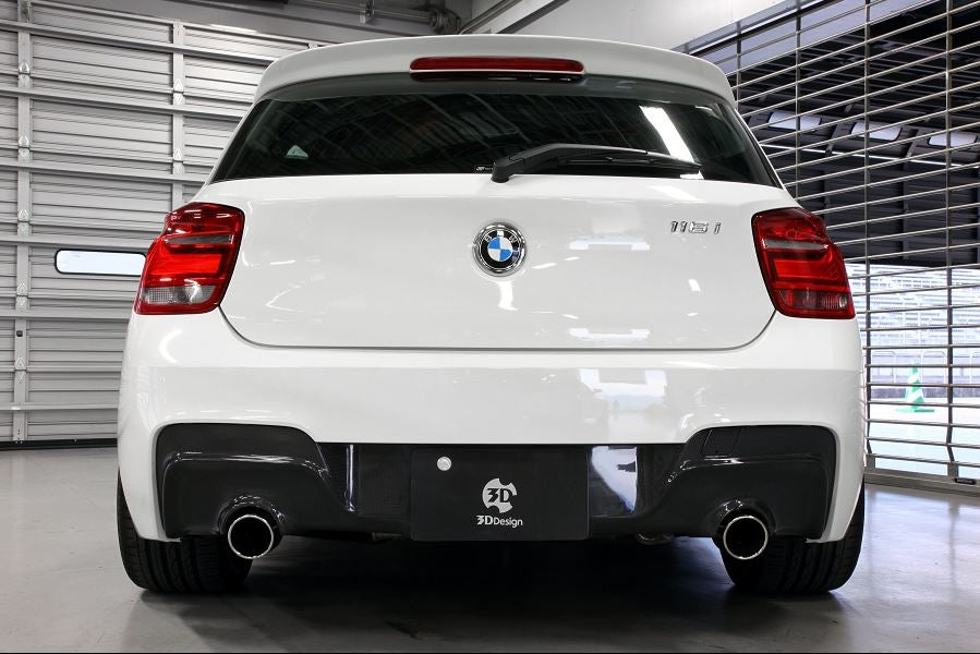 3d design f20 m sport carbon fiber rear diffuser - iND Distribution