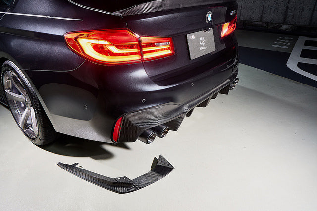 3d design f90 m5 carbon rear diffuser - iND Distribution
