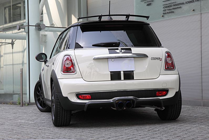 3D Design Mini R56 Cooper S Carbon Fiber Rear Diffuser 5