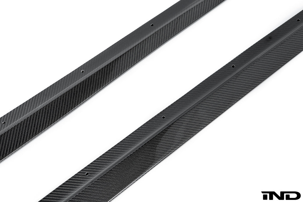 3d design f87 m2 carbon fiber side skirts - iND Distribution