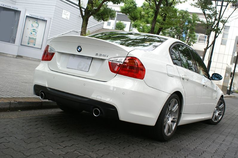 3d design e90 trunk spoiler - iND Distribution
