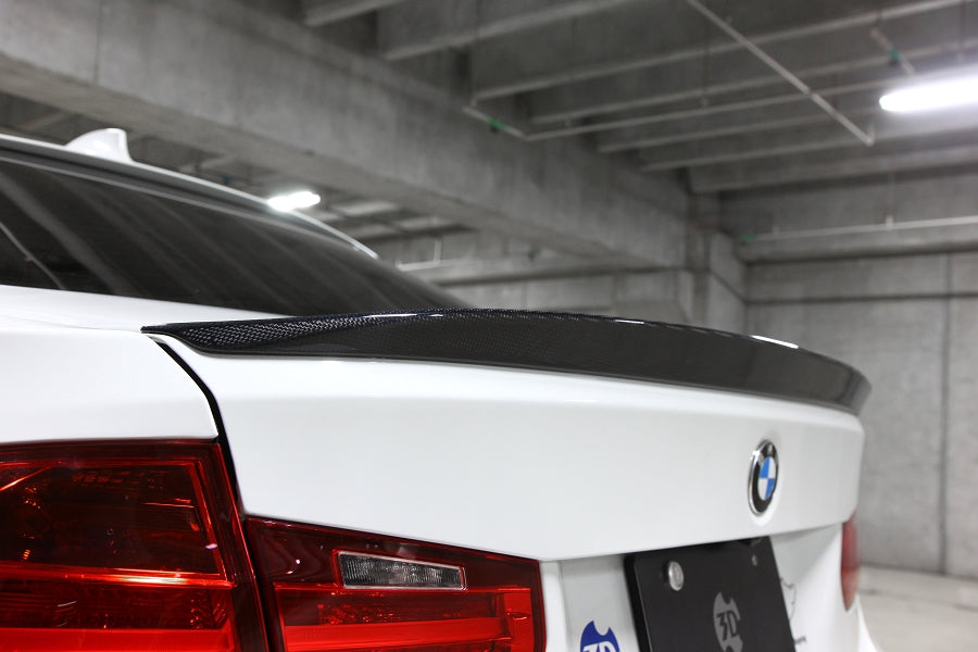 3D Design F30 Carbon Fiber Trunk Spoiler 3