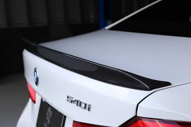 3d design f90 m5 carbon trunk spoiler 1x1 - iND Distribution