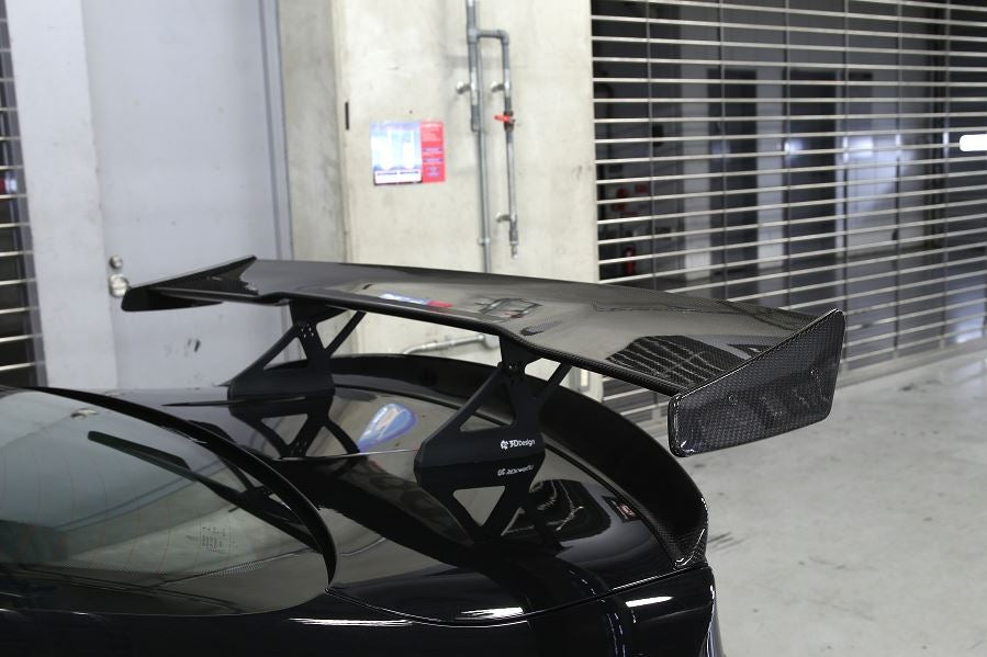 3d design f82 m4 dry carbon fiber racing wing - iND Distribution