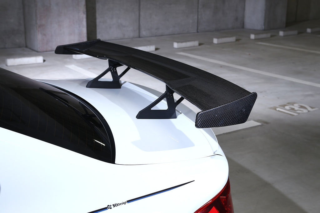 3d design f87 m2 carbon fiber racing wing - iND Distribution
